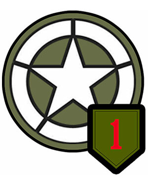 US ARMY - 1st Infantry Division